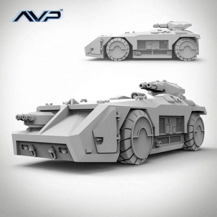 AvP: The Hunt Begins – M577 Armoured Personnel Carrier | Buy now at The G33Kery - UK Stock - Fast Delivery